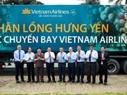 Les longanes de Hung Yen servis sur des vols de Vietnam Airlines