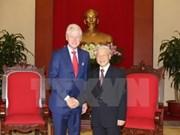 Visite officielle du leader du PCV aux Etats-Unis, visite historique
