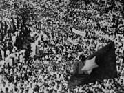 Commémoration du 70e anniversaire de la Révolution d'Août 1945