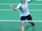 Tableau très relevé pour le tournoi de badminton Yonex Sunrise