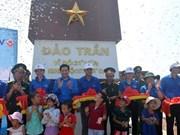 Au Nord, un mât au drapeau national inauguré sur l'île de Trân