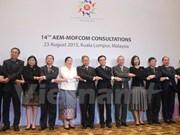 Economie : consultations entre l'ASEAN et des partenaires