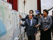 Le Royaume-Uni prêt à prêter au Cambodge des cartes conservées