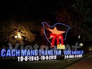 Hanoi se prépare à la Fête nationale