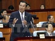 Cartes du Cambodge: Hun Sen avertit de l'emploi de la méthode forte