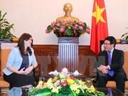 La vice-ministre israélienne des Affaires étrangères en visite au Vietnam