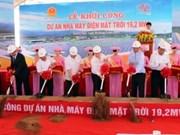 Mise en chantier de la 1ère Centrale solaire du Vietnam