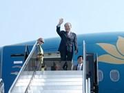 Nguyen Sinh Hung entame sa visite officielle aux Etats-Unis
