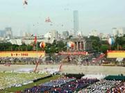 Messages de félicitations au Vietnam à l'occasion de la 70e Fête nationale