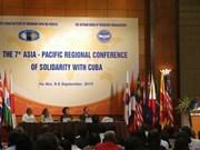 La 7e conférence régionale d'Asie-Pacifique de solidarité avec Cuba à Hanoi