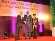 VietjetAir distingué du «PATA Gold Awards 2015» en Inde