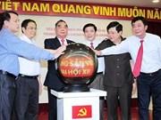 Inauguration du site web sur le XIIe Congrès du PCV