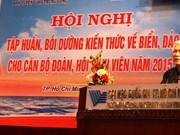 Améliorer les connaissances sur la mer et les îles des responsables de la jeunesse