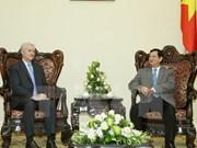 Le PM Nguyen Tan Dung reçoit le nouveau directeur national de la BAD au Vietnam