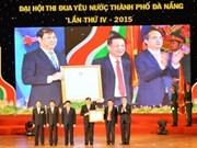 Le chef du CC du FPV au 4e congrès d'émulation patriotique de Dà Nang