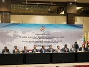 L'ASEAN : coopération contre la criminalité transnationale