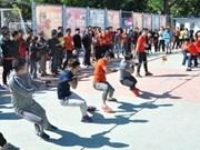 La Fête sportive des Vietnamiens résidant à Pékin