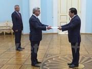 Le président arménien accorde de l'importance à la coopération avec le Vietnam