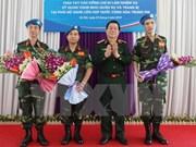 Le Vietnam actif dans les missions de maitien de la paix de l'ONU