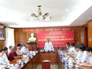 Collecte d'avis sur les documents du 12e Congrès national du Parti au Laos