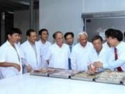 Le président de l'Assemblée nationale en visite de travail à Ha Tinh