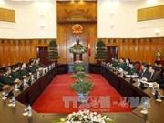 Le PM Nguyen Tan Dung rencontre le chef-d'état major général de l'Armée laotienne