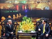 Le chef de l'État vietnamien reçoit le Roi du Cambodge