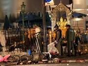 Clôture de l'enquête sur l'attentat de Bangkok