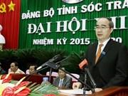 Les congrès des organisations du PCV pour Soc Trang, Bac Liêu et Lang Son