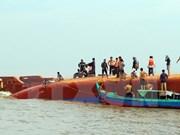 HCM-Ville : un bateau de pêche chaviré, 13 secourus, quatre disparus