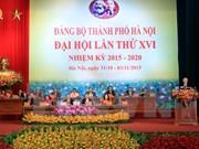 Ouverture du 16e Congrès de l'organisation du PCV pour Hanoi