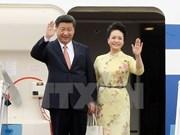 Le secrétaire général du Parti communiste et président chinois entame sa visite d'Etat au Vietnam
