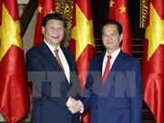 Entrevue Nguyen Tan Dung – Xi Jinping