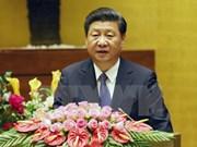 Le dirigeant chinois Xi Jinping s'exprime devant l'Assemblée nationale vietnamienne
