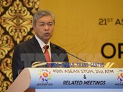 ASEAN : les ministres des Transports se réunissent