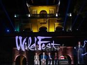 Festival de cinéma et de musique en plein air des animaux sauvages à Hanoi