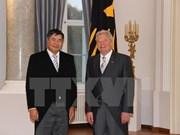 Le président allemand est satisfait du développement des relations avec le Vietnam