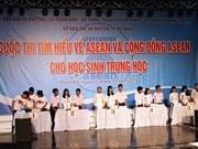 Un concours sur l'ASEAN pour les lycéens à Da Nang