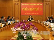 La Direction centrale de la réforme judiciaire tient sa 24e réunion