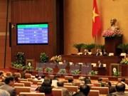 Budget, taxes, presse, information au menu des députés