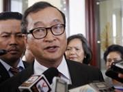 Un mandat d'arrêt contre le chef de l'opposition cambodgienne