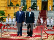 Entretien Nguyen Tan Dung et John Key