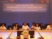 Conférence ministérielle de l'APEC aux Philippines