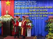L'ancien ambassadeur sud-coréen au Vietnam à l'honneur