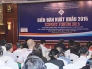 Forum sur les exportations de 2015 à Hô Chi Minh-Ville
