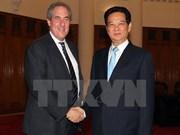 Le PM rencontre le représentant américain au commerce
