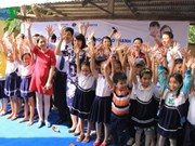 Meeting en l'honneur de la Journée mondiale des toilettes à Bên Tre