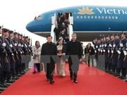 Le président Truong Tan Sang commence sa visite d'Etat en Allemagne
