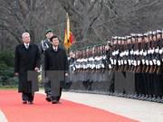 La presse allemande couvre la visite de Truong Tan Sang