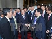 Le président de l'AN rencontre des journalistes de l'ASEAN